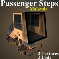 3D passenger steps mas
