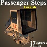 passenger steps thy 3D