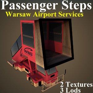 passenger steps model