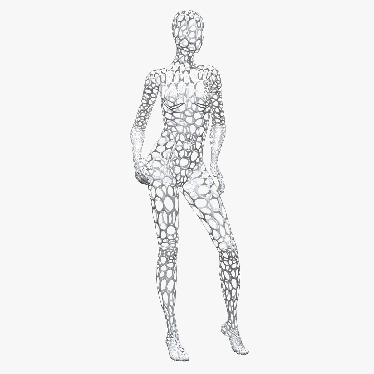 3D model female wire mannequin - TurboSquid 1173793