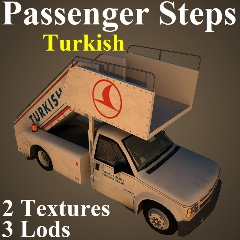 passenger steps thy 3D model