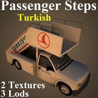 passenger steps thy 3D model