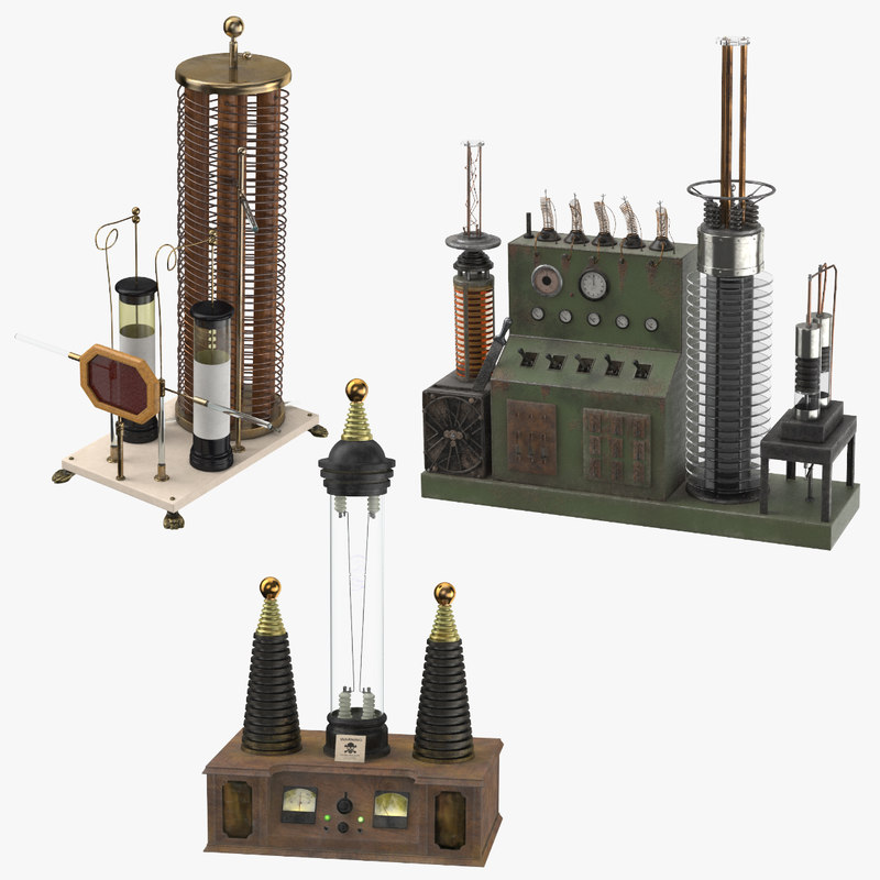 3D mad static electrical machine model