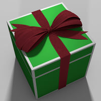 ribbon box 3D model