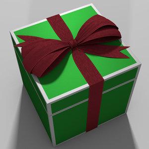 ribbon box 3D model
