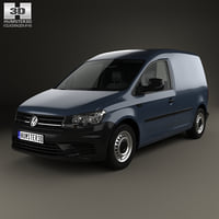 volkswagen caddy panel 3D model