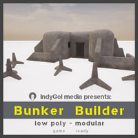 asset pack bunkers model