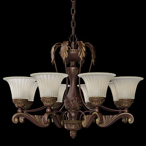 chandelier dio pianore 3D