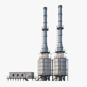 refinery module 3D model