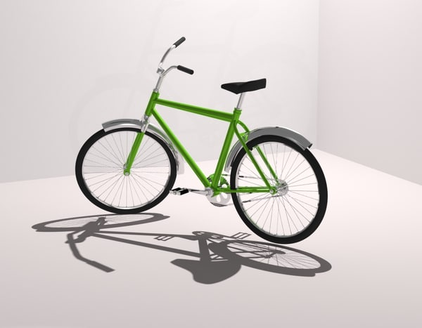 3D bike model