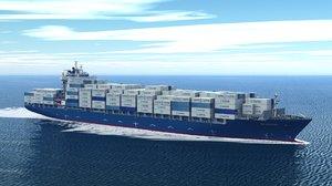 ship container dreamscape hs 3D model