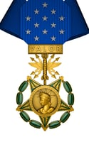air force medal honor 3D model