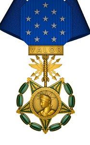 air force medal honor 3D model