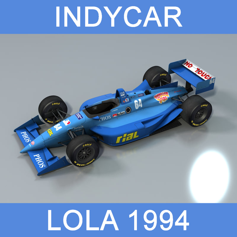 indycar lola 1994 car 3D