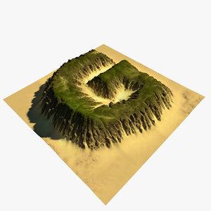 terrain g 3D