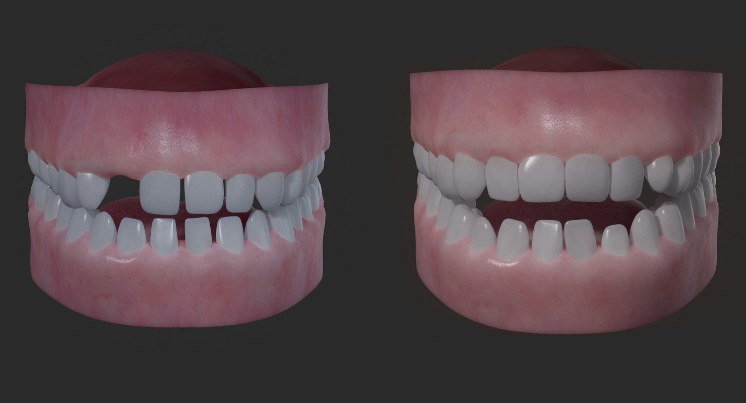 3D realistical children mouth
