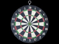 dartboard dart board 3D