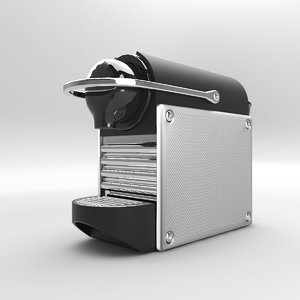 nespresso coffee machine 3D model