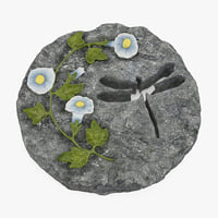 decorative garden stepping stone 3D model