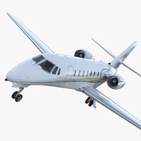 Business Jet Cessna Model 680 Sovereign