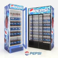 3D fridges model