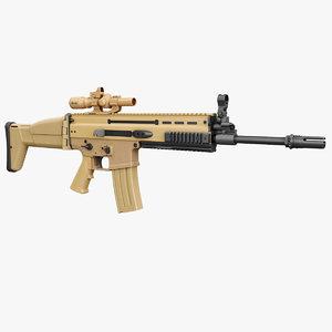 fn scar rifle model