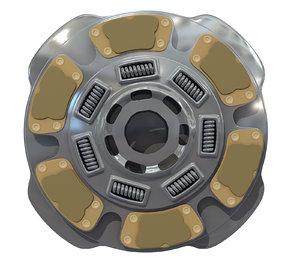 clutch disk model