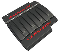 3D chevrolet corvette engine cover