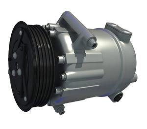 engine parts 3D model