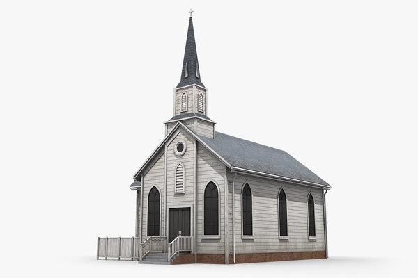 church 3D