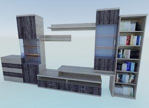 living room furniture model