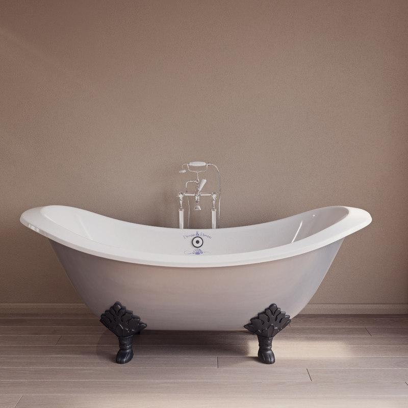 devon princess bath 3D model