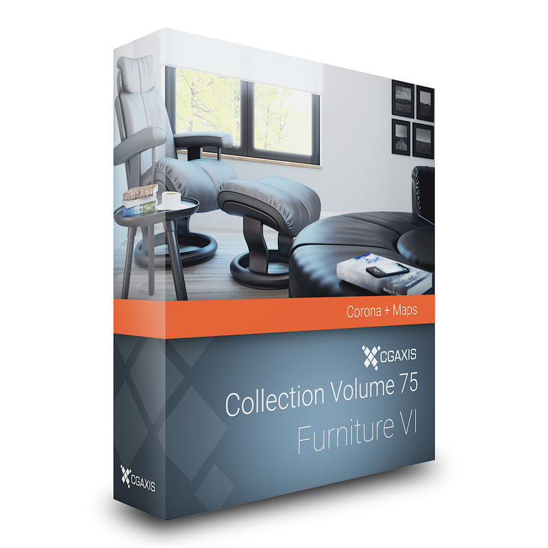 volume 75 furniture vi 3D model
