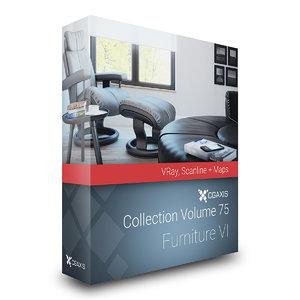 volume 75 furniture vi 3D