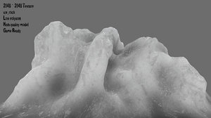 3D ice snow model