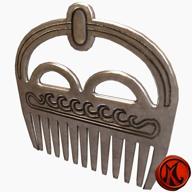 comb 3D model