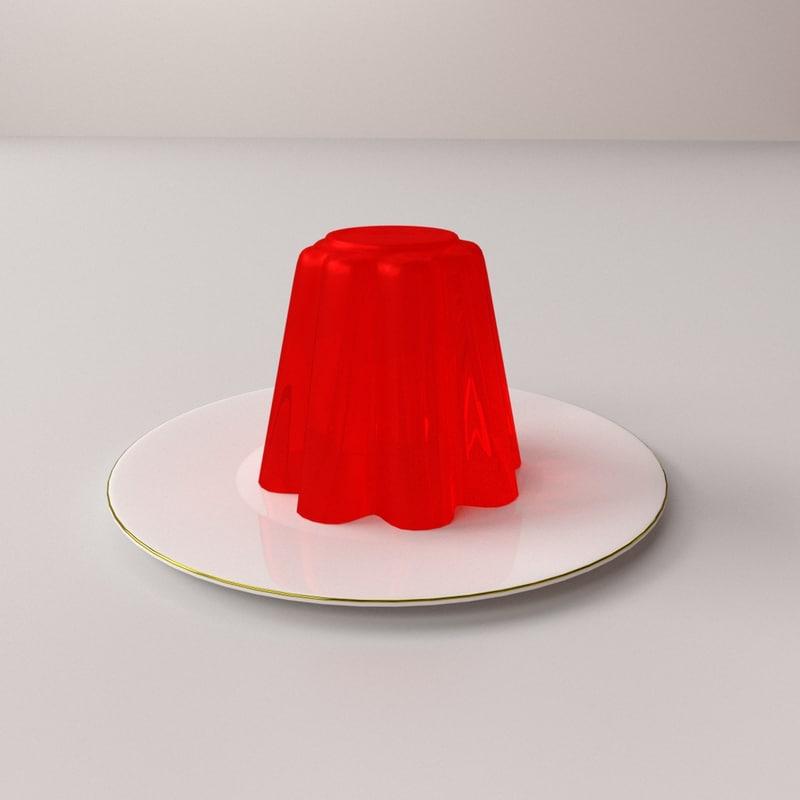 jelly 3D model