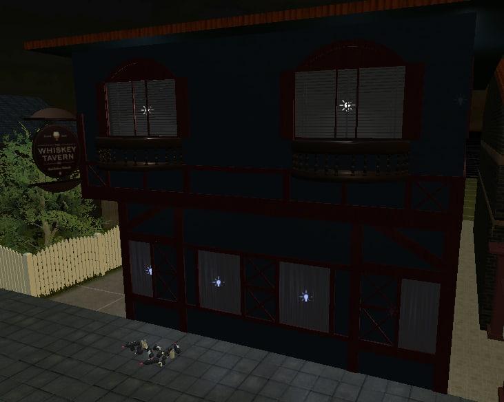 old bar 3D