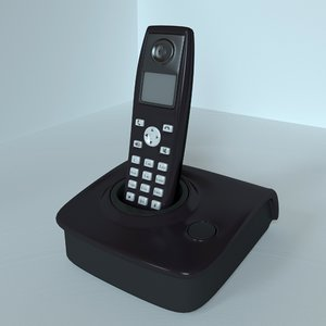 3D radio telephone model