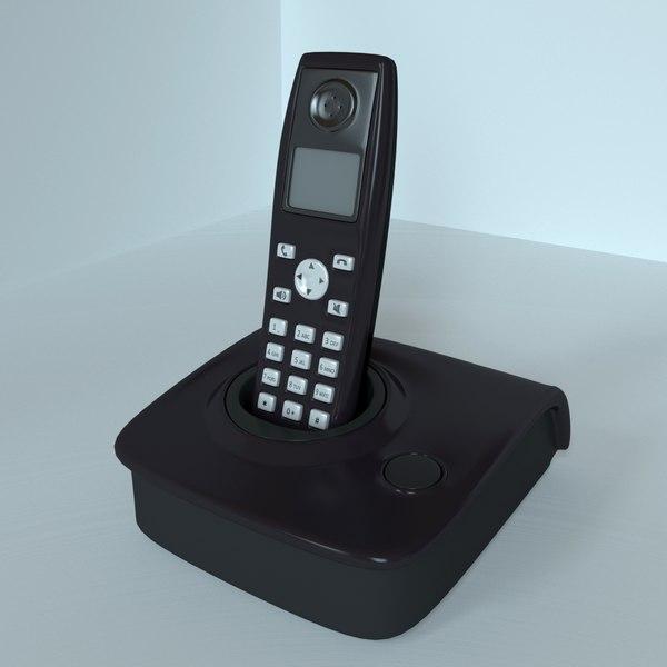 3D radio telephone model