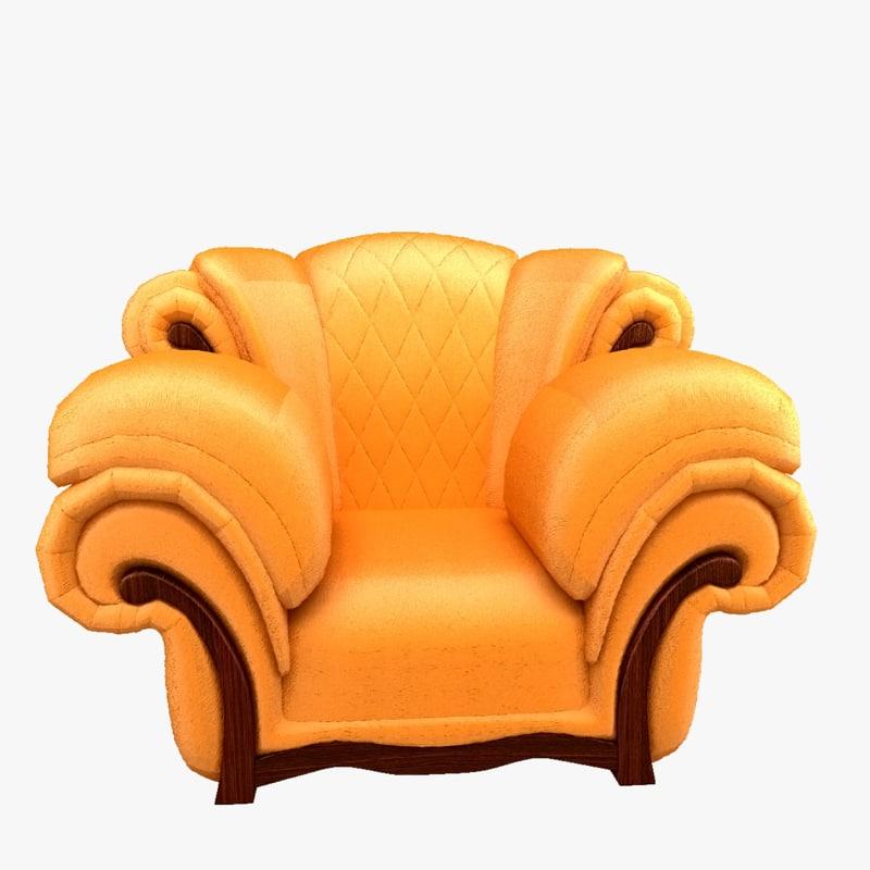 chair upholstery model