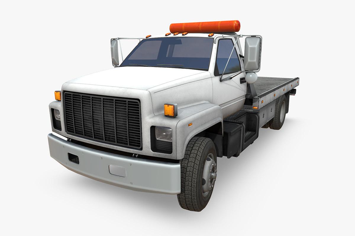 3D kick truck model