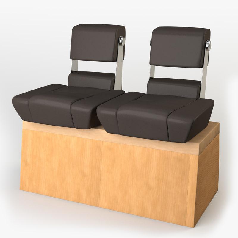 Chair Yacht 3D Model