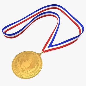 sport medal 3D