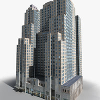 new york manhattan lexington 3D model
