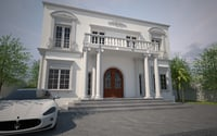 old style house
