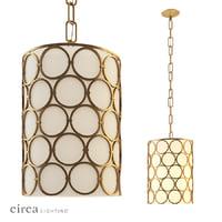 3D chandelier alexandra narrow hanging