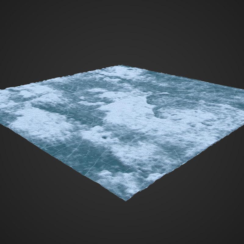 3D ice ground