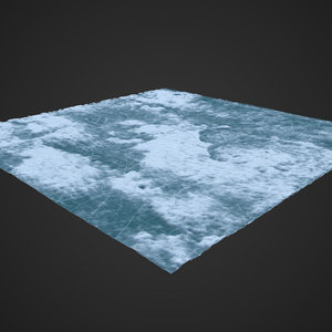 3D ice ground