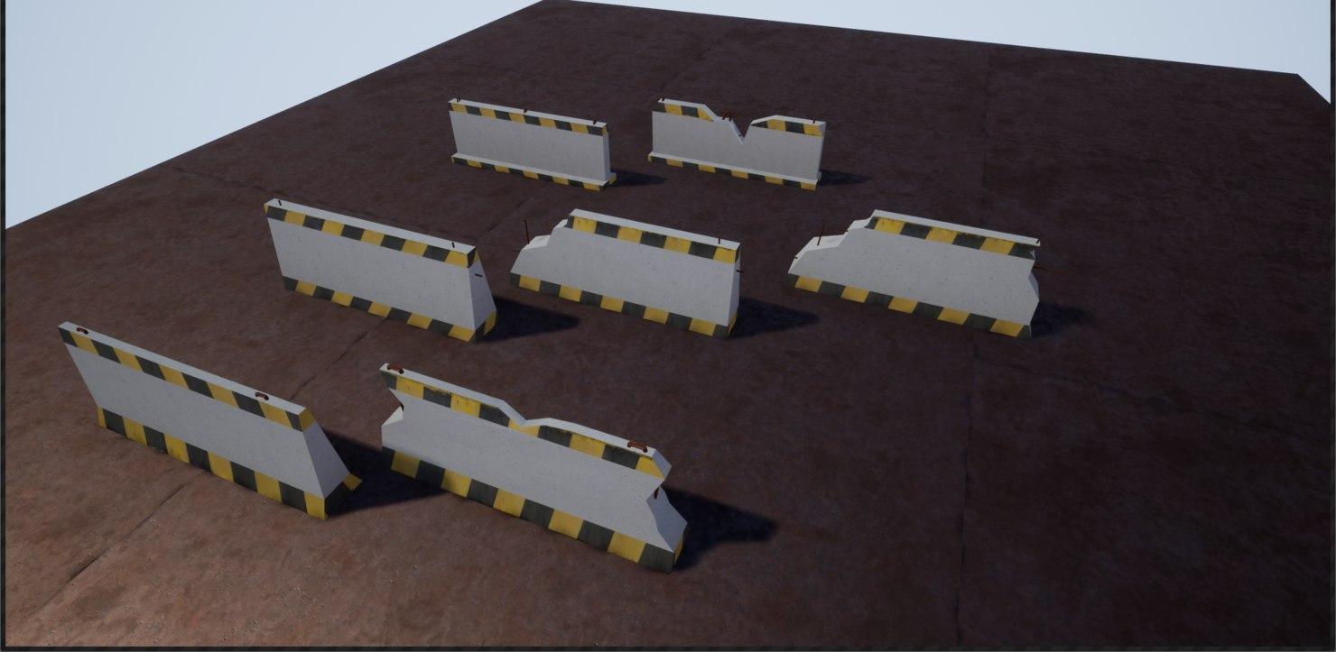 3D barricade